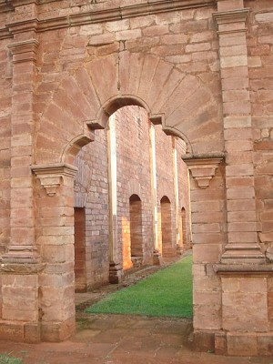 Jesuit Ruins, Paraguay [Photo Credit: Public Domain, PattyP]