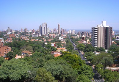 Asuncion [Photo Credit: Creative Commons 3.0, Felipe Antonio]